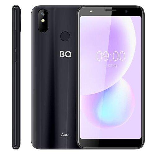 Смартфон BQ 6022G Aura, темно-серый смартфон bq 6022g aura фиолетовый