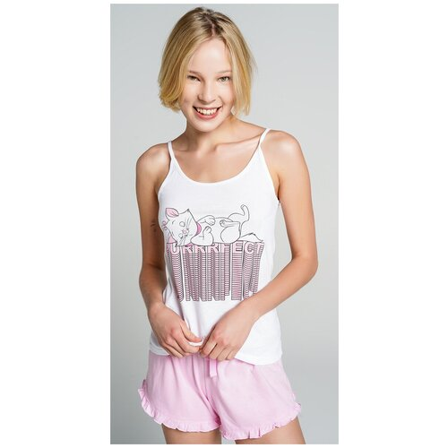 Пижама ТВОЕ, размер M, белый