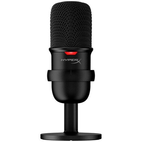 Микрофон игровой HyperX SoloCast (USB, HMIS1X-XX-BK/G)