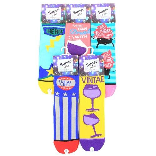 Женские носки Super Socks LTB-212 хлопок р 37-43 5 пар