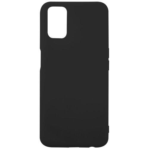 Чехол для Oppo A52/Oppo A72/Oppo A92, силиконовая накладка, черный