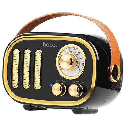 Портативная акустика Hoco BS16 Voice reminder, black