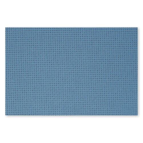 Фото - Канва для вышивания Gamma Aida, №14, 100% хлопок, 30*40 см, 5 шт, голубая (K04) канва gamma канва gamma kpl 05 пластиковая 7х7 5 см