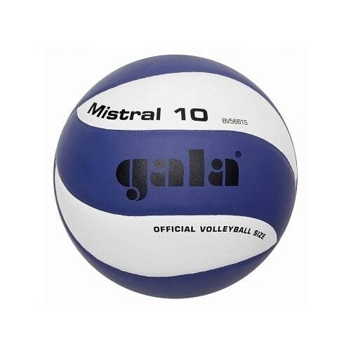 Волейбольный мяч Gala Mistral 10 синий/белый