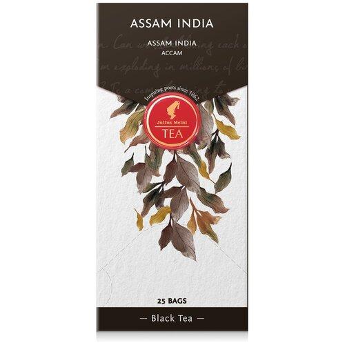julius meinl семь морей чай улун листовой 50 г Чай черный Julius Meinl Assam India в пакетиках, 25 шт.