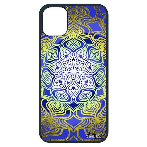 Чехол для Айфона 11 Про уникальный дизайн Мандала Спиритуальный Восточный