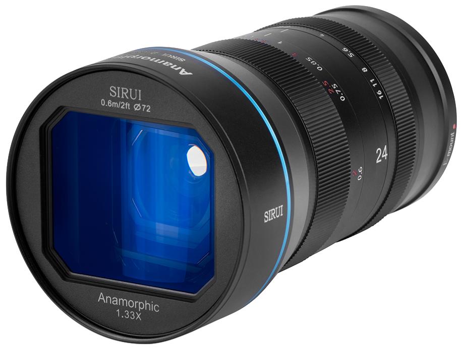 Объектив Sirui 24mm f2.8 Anamorphic Canon EF-M mount
