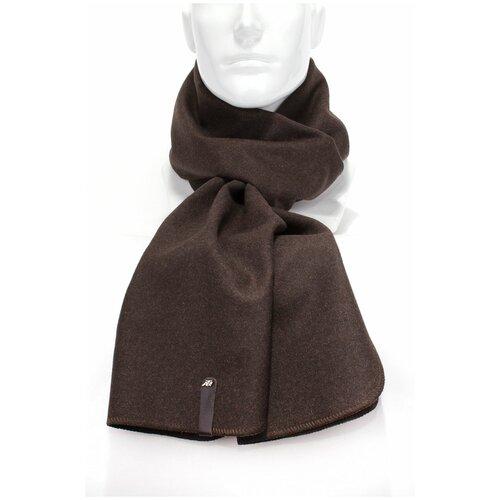 Шарф Antar 27114К из шерстяного ткани, коричневый