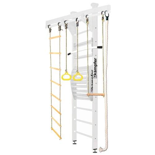 Купить Шведская стенка Kampfer Wooden Ladder Maxi Ceiling Стандарт жемчужный, Игровые и спортивные комплексы и горки