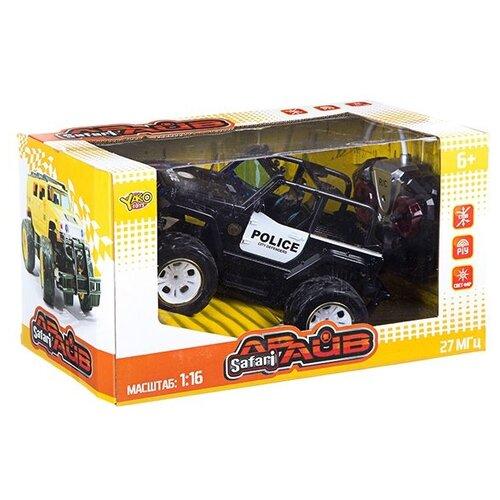 Фото - Упр. радио джип FullFunc Safari Драйв, М1:16, ВОХ 33*18.5*20 см, арт.6144J радиоуправляемые игрушки yako радиоуправляемый джип fullfunc