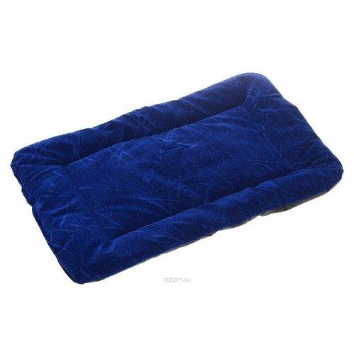 Лежак для собак и кошек Зоо Марк Матрас №2 38х54 см синий