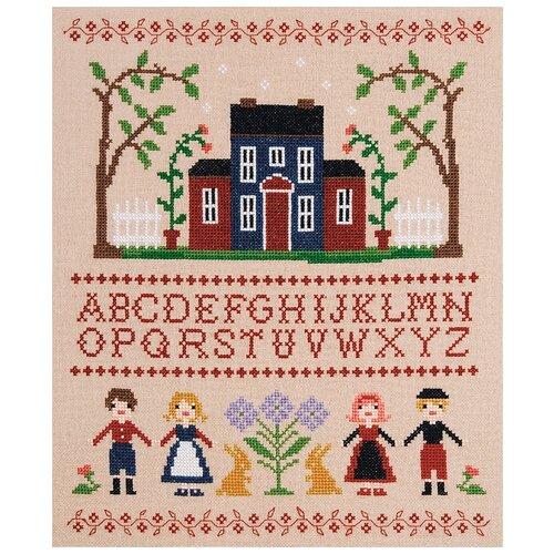 Купить Набор для вышивания Буквы и куклы XIU Crafts 2801709, Наборы для вышивания
