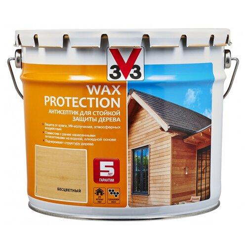 V33 Wax Protection бесцветный 9 л