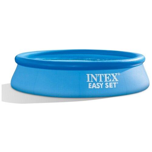Фото - Бассейн Intex Easy Set 28106, 244х61 см синий бассейн intex intex easy set 244х61 см 1942 л фил насос 1250 л ч