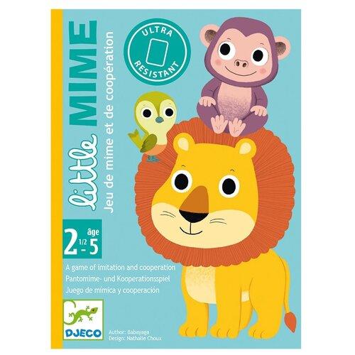 Купить Детская карточная игра DJECO Пантомима (05063), Настольные игры