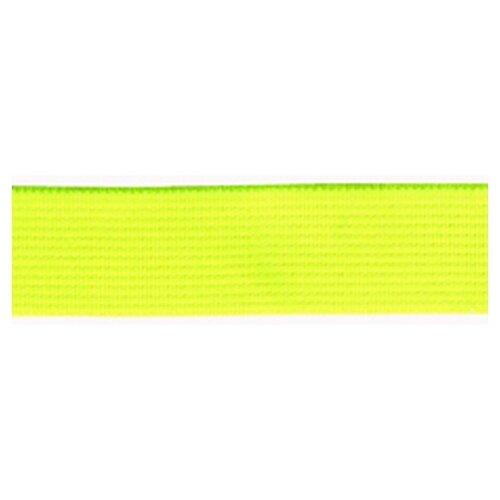 Купить Резинка неоновая, 21 мм, цвет желтый 78 % полиэстр, 22% латекс, PEGA, Технические ленты и тесьма