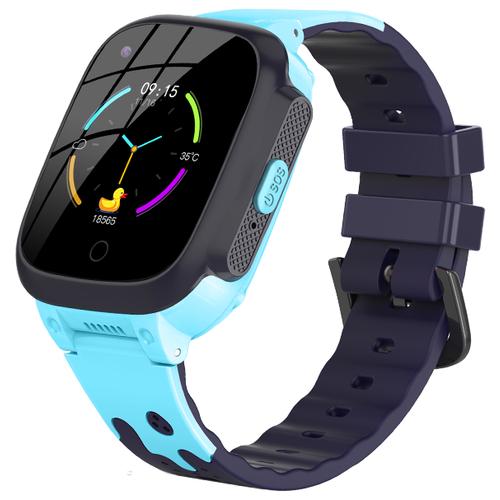 Детские умные смарт-часы Smart Baby Watch LT25 4G с поддержкой Wi-Fi и GPS, HD камера, SIM card (Голубой) детские умные часы телефон с gps smart baby watch df25 голубые