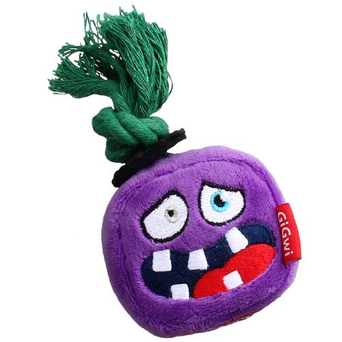 Фото - Игрушка для собак GiGwi Monster Rope Монстр с веревкой (75433) фиолетовый игрушка для собак gigwi push to mute сова 75322 фиолетовый