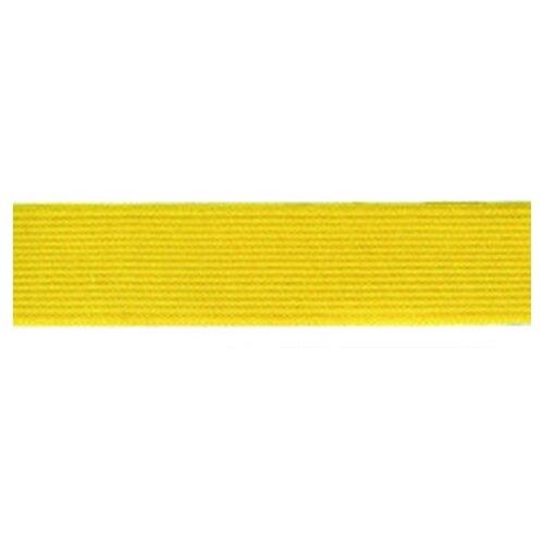 Купить Резинка, 20 мм, цвет желтый 76% полиэcтер, 24% латекс, PEGA, Технические ленты и тесьма
