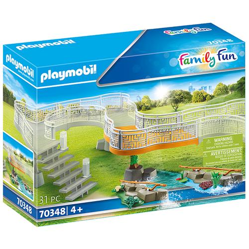 Набор с элементами конструктора Playmobil Family Fun 70348 Смотровая дорожка для зоопарка