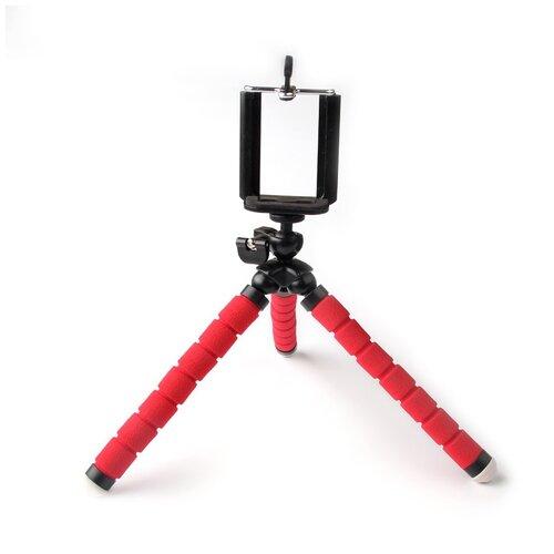 Гибкий штатив для телефона или камеры красный