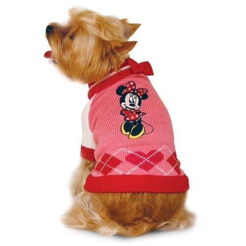 Свитер для собак Triol Disney Minnie XS розовый / красный платье oodji ultra цвет красный белый 14001071 13 46148 4512s размер xs 42 170