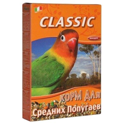 Фото - Fiory корм Classic для средних попугаев 650 г fiory fiory корм для средних попугаев parrocchetti african
