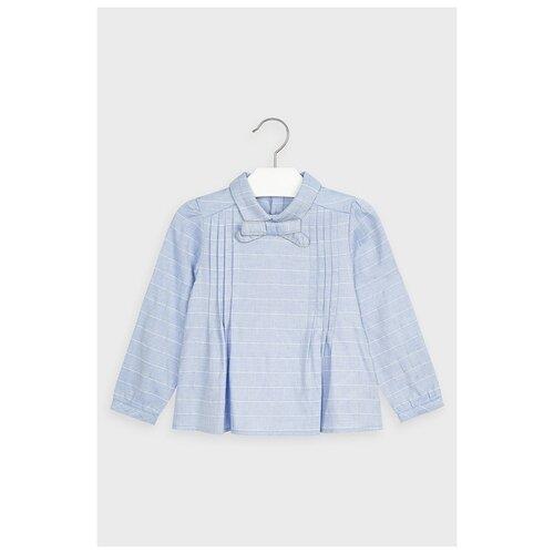 Блузка Mayoral размер 6(116), голубой/синий футболка mayoral размер 6 116 голубой