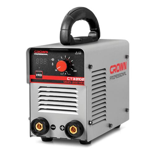 Сварочный аппарат инверторного типа CROWN CT33102 MMA сварочный аппарат инверторного типа crown ct33100 mma