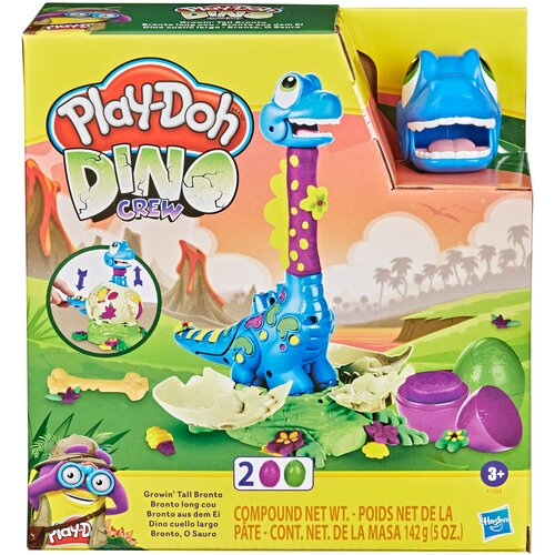 Масса для лепки Play-Doh Растущий бронтозаврик (F1503)