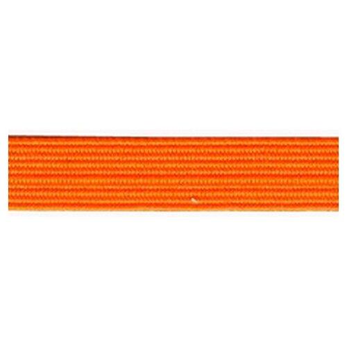 Купить Резинка продежка, 6, 6 мм, цвет неоновый оранжевый 64% полиэстр, 36% латекс, PEGA, Технические ленты и тесьма