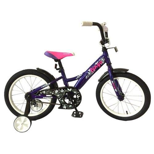 детский велосипед navigator bingo вн12158 белый с рисунком требует финальной сборки Детский велосипед Navigator Bingo (ВН16136) темно-синий (требует финальной сборки)