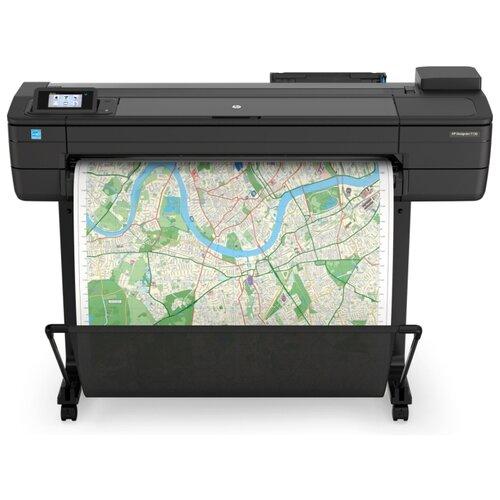 Фото - Принтер HP DesignJet T730 36-in (F9A29D), черный принтер hp designjet z6 44 in