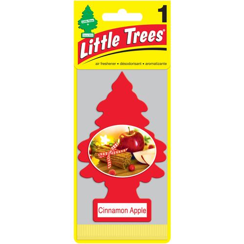 Фото - Little Trees Ароматизатор для автомобиля Ёлочка Яблоко с корицей (Cinamon Apple) 12 г little trees ароматизатор для автомобиля u3s 32967 eu пина колада