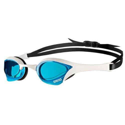 Фото - Очки для плавания arena Cobra Ultra Swipe EU-003929, blue-white-black очки для плавания arena zoom neoprene 92279 black clear black