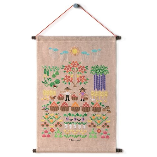 Купить Набор для вышивания Урожай XIU Crafts 2870906, Наборы для вышивания