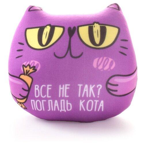 Кот с фразой: Все не так? Погладь кота