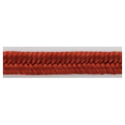 Шнур-сутаж PEGA, красный, 3 мм 100% вискоза