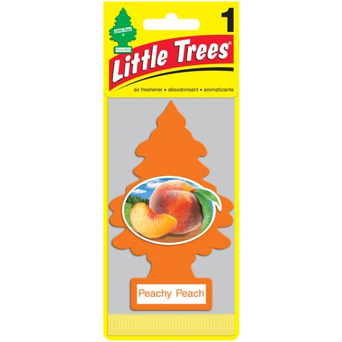 Little Trees Ароматизатор для автомобиля Ёлочка Персик (Peachy Peach) little trees ароматизатор для автомобиля ёлочка не курить no smoking