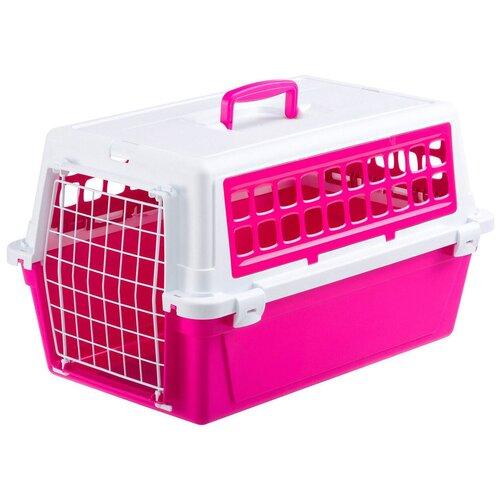 Фото - Клиппер-переноска для собак Ferplast Atlas 10 Trendy V. 1 32.5х29х48 см розовый клиппер переноска для собак imac linus cabrio 50х32х34 см розовый