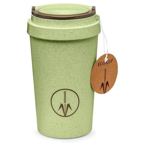 Тамблер WALMER Eco Cup, 0.4 л зеленый