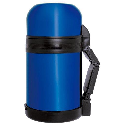 Классический термос QUEEN RUBY QR-8614, 0.8 л синий