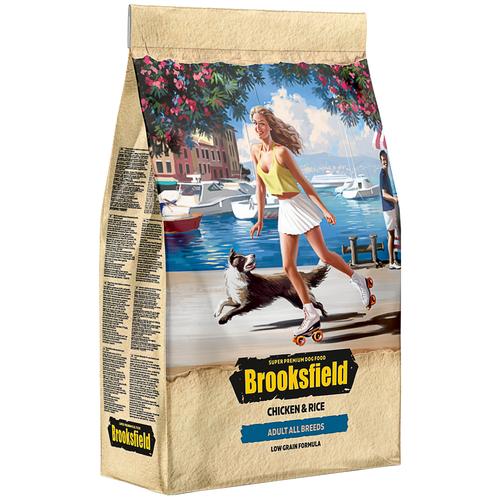 Сухой корм для собак BROOKSFIELD курица, с рисом 3 кг сухой корм для собак brooksfield курица с рисом 3 кг для крупных пород