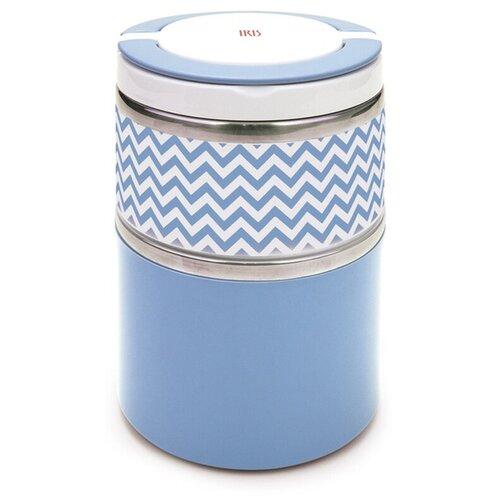Термос для еды IRIS Barcelona I8341-I, 0.9 л голубой