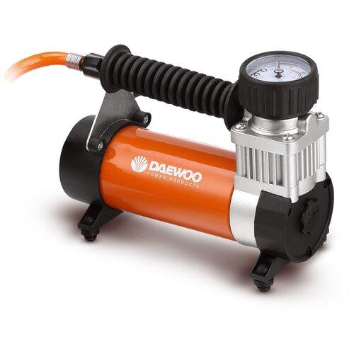 Фото - Автомобильный компрессор Daewoo Power Products DW55 PLUS черный/оранжевый пылесос автомобильный daewoo power products davc100 черный оранжевый