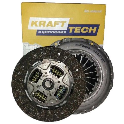 Комплект сцепления KraftTech W01255D9 для Fiat Ducato