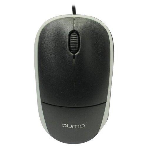 Мышь Qumo Collage M65, черный/серый