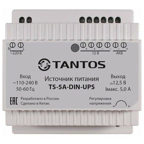 Резервный ИБП TANTOS TS-5A-DIN-UPS белый