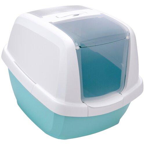 Туалет-домик для кошек Imac Maddy 62х49.5х47.5 см мятный