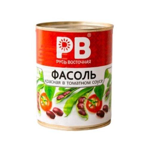 Фасоль красная в томатном соусе (ТМ Русь Восточная) ж/б 360г